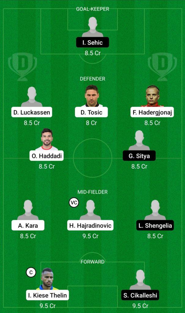 KAS Vs KON Dream11 Team