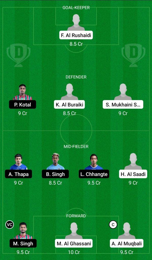 Oman Vs India Dream11 Team
