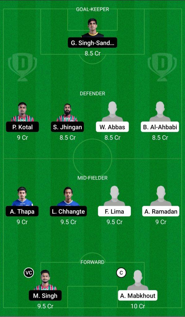 UAE Vs India Dream11 Team