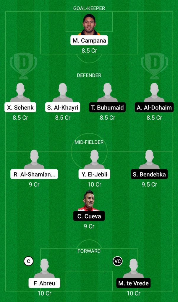 albt vs aff dream11 team
