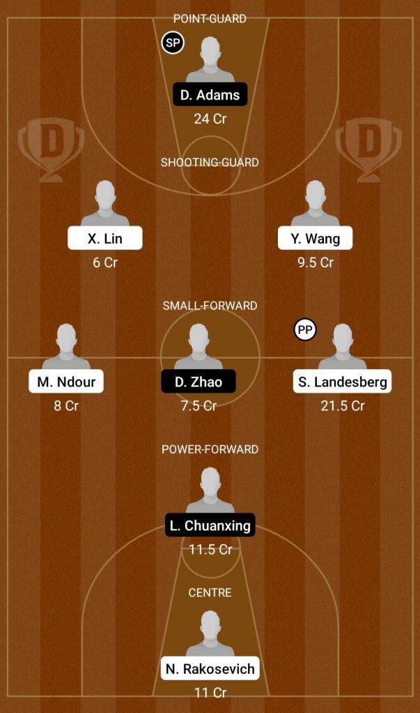 ZGB Vs QE Dream11 Team