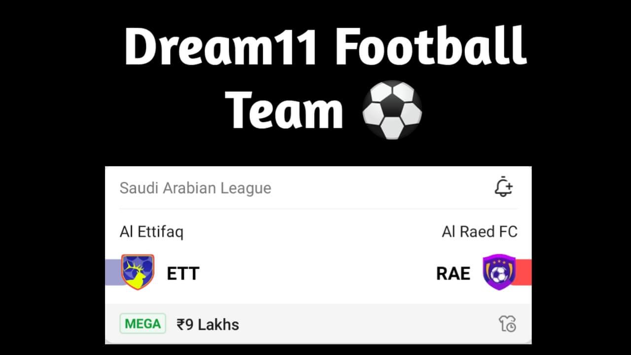 ETT Vs RAE Dream11 Prediction