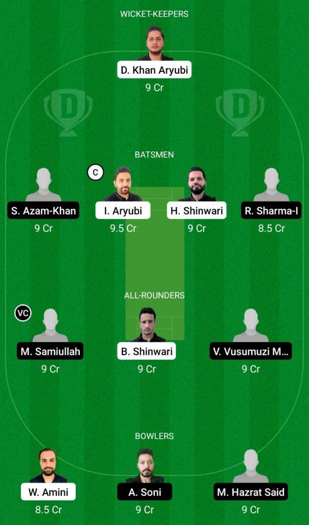 SCE Vs KSV Dream11 Team
