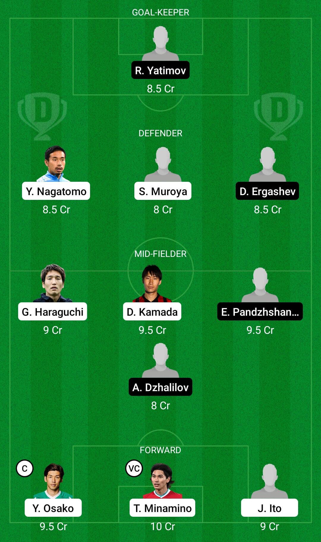JPN Vs TAJ Dream11 Prediction