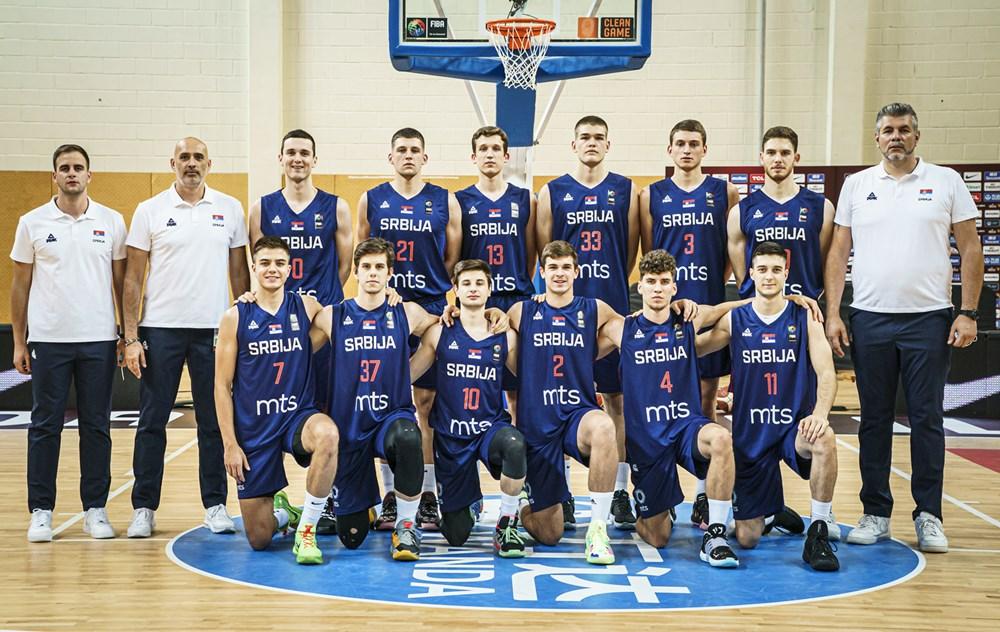 Serbia U-19 World Cup Basketball Player Stats Of Season 2021-2022 FIBA. Serbia Under 19 Basketball.