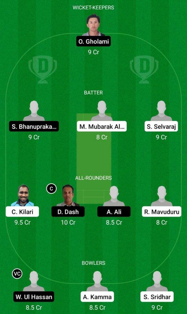 HSG vs LND Dream11 Team